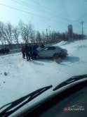 Массовое ДТП на Гагарина. Двух водителей госпитализировали