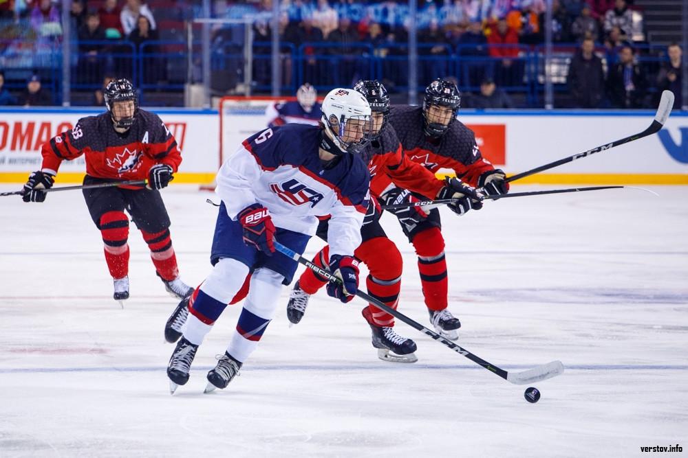 Хоккеисты сборной Российской Федерации стартовали спобеды начемпионате мира среди юниоров