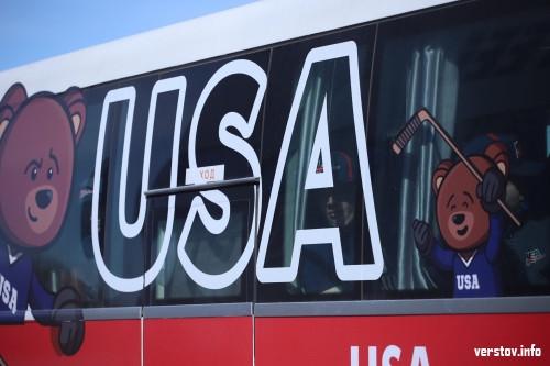 Американцы уже в городе! Юниорская сборная США по хоккею прибыла в Магнитогорск