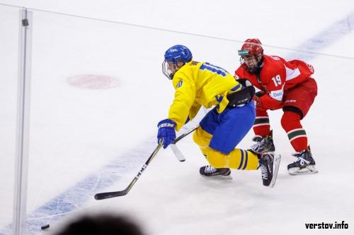 Магнитогорцы приносят победу юниорской сборной, а белорусы уступают шведам