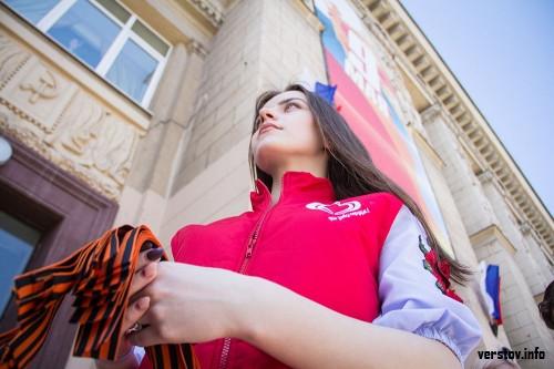 Акция стартовала. В Магнитогорске к Дню Победы раздадут более 5 тысяч георгиевских лент