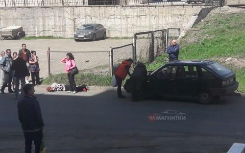 ДТП около «Гостиного двора». Женщина угодила под колеса автомобиля