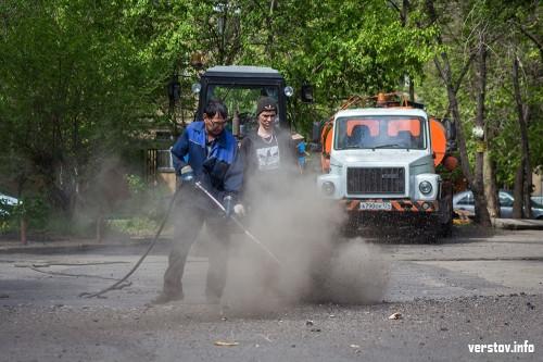 «Заплатки» уходят в прошлое. В Магнитогорске приступили к ремонту межквартальных проездов