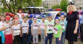 «Город героических профессий». На закрытие смены в школу №32 приехали полицейские, спасатели и врачи