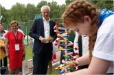 Сергей Бердников и искусственный интеллект. В «Абзаково» закрылась смена для одаренных детей