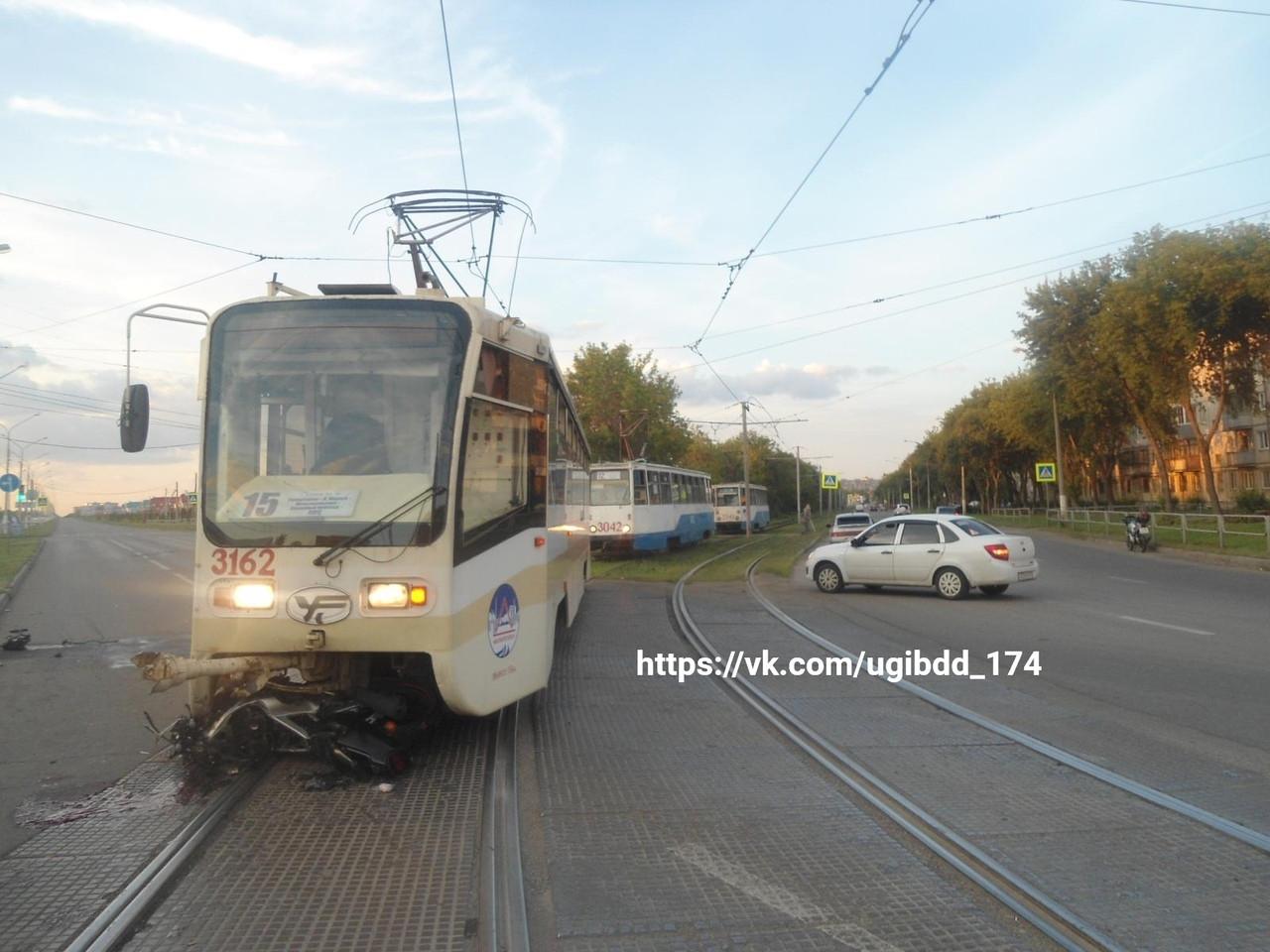 Человек попал под колесо трамвая магнитогорск