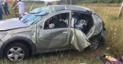 Водитель уснул за рулем? Семья из Магнитогорска попала в аварию на трассе М7