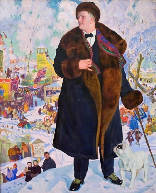 Шаляпин - в полный рост! В Магнитку привезут известное полотно кисти Бориса Кустодиева