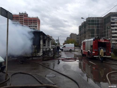 Короткое замыкание – причина возгорания. Утром в Магнитогорске горело мясо