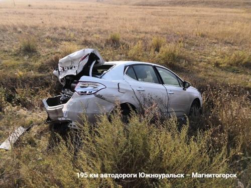 Оба водителя в больнице. Очередное ДТП произошло на трассе под Магнитогорском
