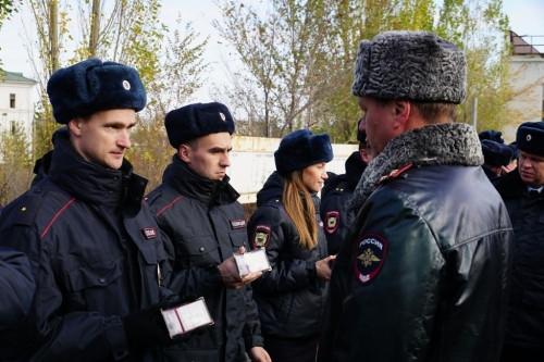 К зиме – подготовились. В Магнитогорске прошел строевой смотр полицейских