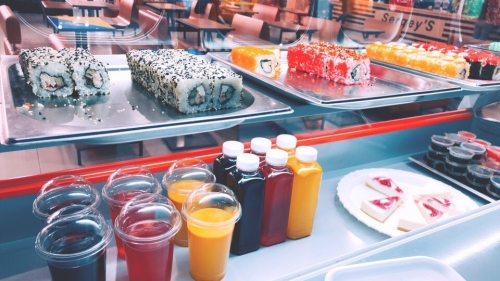 Доставка суши, роллов, горячих блюд от суши-бара «Японский дворик»