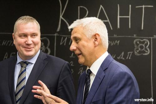 Дети уже занимаются. Глава Магнитогорска и гендиректор ММК посетили детский технопарк «Кванториум»