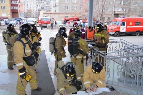 В Магнитогорске из-за пожарной тревоги эвакуировали 220 школьников. Оказалось, что это учения
