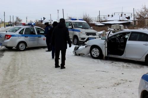 Могли и застрелить… Злоумышленник, угнавший автомобиль, до последнего пытался уйти от полицейских