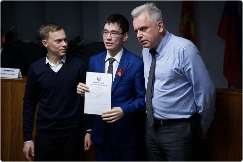 Из «молодогвардейцев». Молодежная общественная палата выбрала нового председателя