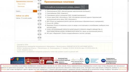 Оплачивать в кассу или можно онлайн? На официальном сайте МП «ЕРКЦ» появилась реклама интимных услуг
