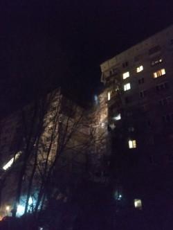 Недоброе утро. В жилом доме на Завенягина произошел взрыв газа