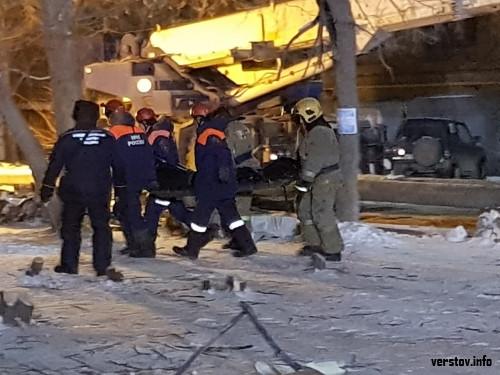 Шансов, увы, не было. Спасатели вытаскивают из-под завалов погибших магнитогорцев