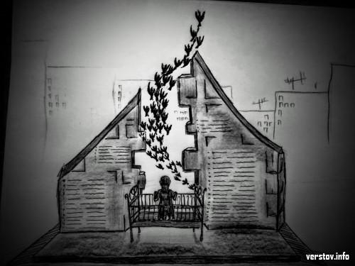 Первый эскиз… Художники Магнитки приступили к подготовке вариантов будущего мемориала