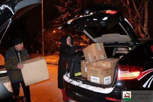 Восемь посылок. Уфимцы отправили подарки магнитогорским детям, пострадавшим в результате взрыва дома