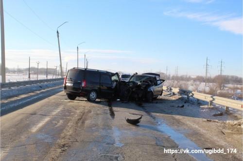 Лобовой удар. В ДТП под Магнитогорском скончался пассажир «Лады»