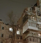 Теперь Ростовская область. В городе Шахты произошел взрыв газа в девятиэтажке
