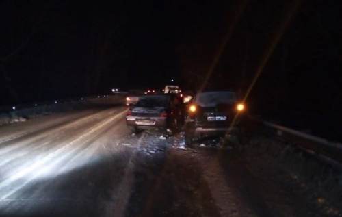 Занесло. В результате ДТП на Западном шоссе пострадала пассажирка «десятки»