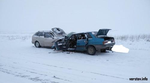 Смерть на трассе под Магнитогорском. Водитель ВАЗа скончался после лобового столкновения с иномаркой