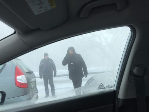 Южный переход встал! Из-за сильного тумана в районе ТЭЦ произошло несколько массовых ДТП с участием 13 машин