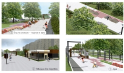 Wi-Fi, велодорожка и дизайнерские скамейки. Магнитогорцам рассказали о «бульваре» на проспекте Карла Маркса