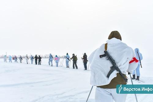 На лыжах до Берлина. Чебаркульские школьники совершили марш-бросок «Преодоление»