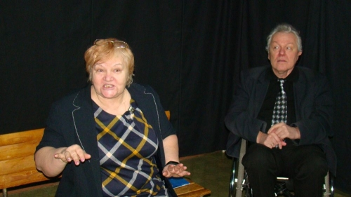 Встретились два одиночества... Магнитогорцев приглашают на бесплатный спектакль