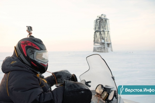 Бездорожьем по Якутии! Снегоходный пробег по Арктике продолжается