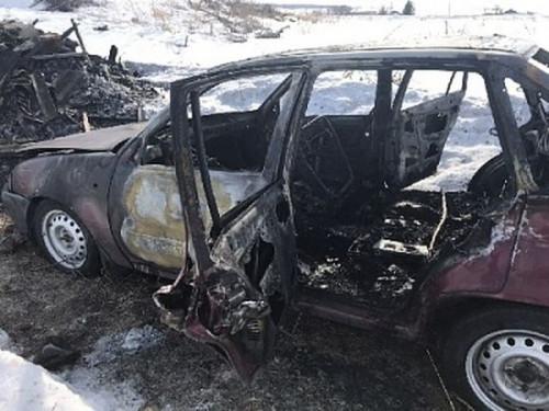 Страшная смерть. Водитель сгорел заживо в собственном автомобиле