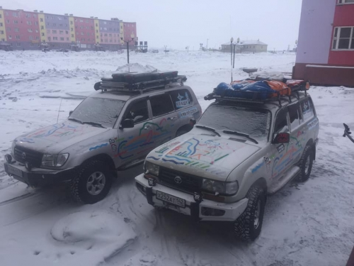 Позади более 10 тысяч километров! Магнитогорские путешественники добрались до Чукотки