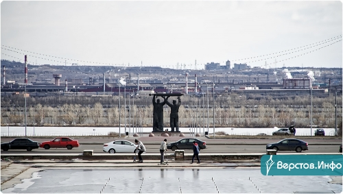 Против коррупции! Текслера в Магнитке встречали одиночным пикетом