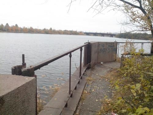 Власти города планируют восстановить часть набережной. ММК поможет