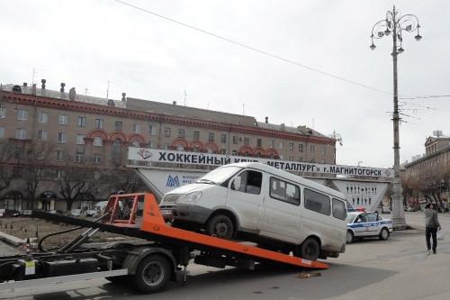 Один автомобиль отправили на спецстоянку. ГИБДД проводит в городе мероприятие «Маршрутка-Нелегал»