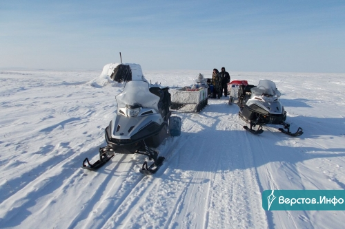 13 тысяч километров за 83 дня! Магнитогорцы завершили снегоходный пробег по российской Арктике
