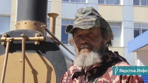 Шесть тысяч километров пешком. Путешественник Андрей Шарашкин дошел до Челябинской области