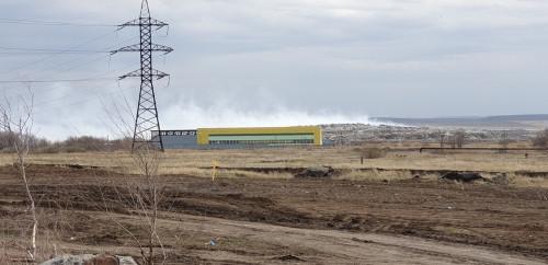 Дышать нечем! В Магнитогорске четвертый день горит городская свалка