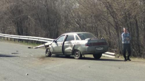 ДТП на выезде из города. Водитель «Нивы» разворачивался и не уступил дорогу