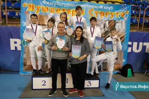 Одни из сильных на Урале. Фехтовальщики Магнитогорска успешно выступили в первенстве УрФО