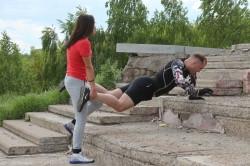 Открытая фитнес-тренировка возвращается. Любители активного образа жизни открывают сезон
