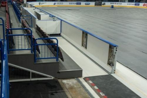 Более зрелищные и динамичные матчи. Хоккеисты «Металлурга» будут играть на «финской» площадке