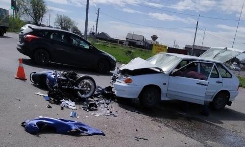 Четыре серьёзных ДТП. Пострадали мотоциклист, сбитый ребенок и пассажирка