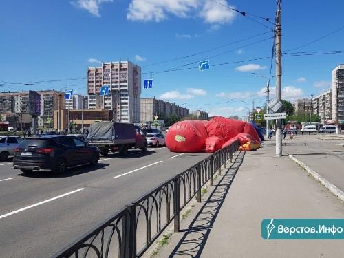 Штормит. На территории Магнитогорска продолжает действовать экстренное штормовое предупреждение
