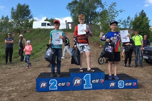Три «золота». Магнитогорская сборная команда мотокроссменов вернулась с победой