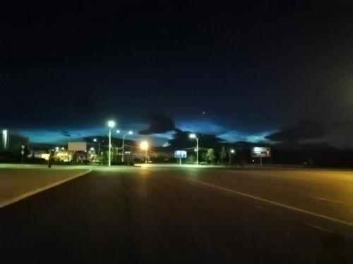«Серебряные» ночи. Жители Магнитогорска наблюдали уникальное природное явление